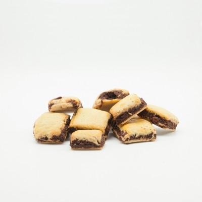 Trancini di amarena e cacao
